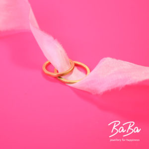 BaBa jewellery for happiness Trauringe aus 900/- Gold individualisierbar