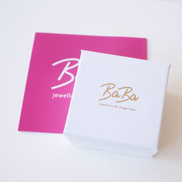 Baba jewellery for happiness Schmuck Verpackung