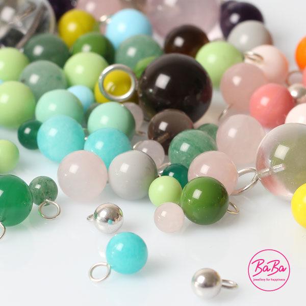 BaBa jewellery bunte Kugeln zum kombinieren