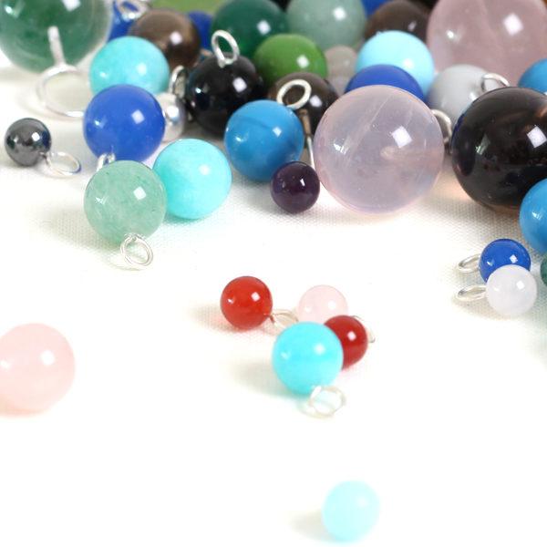 Kugelanhänger verschiedene Farben BaBa jewellery for happiness