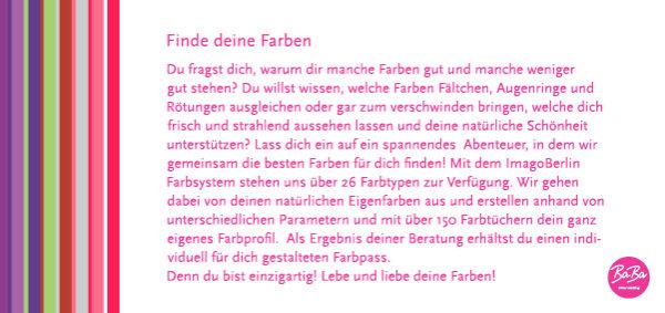Farbberatung Köln BaBa Colour Coaching